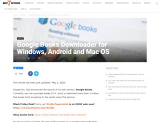 gbooksdownloader.com screenshot