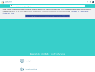 gcfaprendelibre.org screenshot