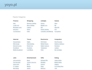 gcforum.yoyo.pl screenshot