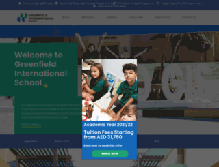 gcschool.ae screenshot