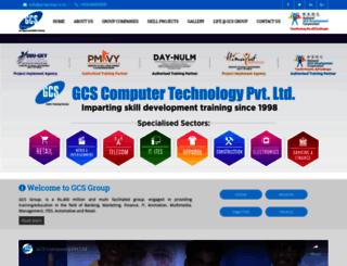gcsgroup.co.in screenshot
