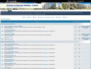 gdansk-sloneczna-morena.mojeosiedle.pl screenshot