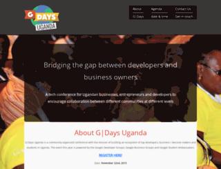 gdaysuganda.appspot.com screenshot