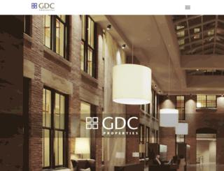 gdcproperties.com screenshot