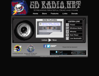 gdradio.net screenshot