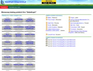 gdziekupic.uslug-cennik.pl screenshot