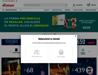 geant.com.uy screenshot