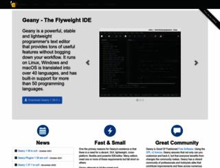 geany.org screenshot