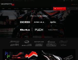gearparts24.de screenshot