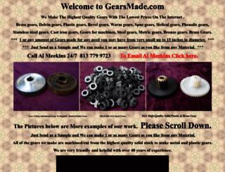 gearsmade.com screenshot