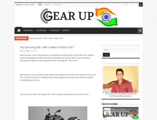 gearupindia.in screenshot