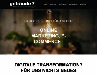 gebaeude7.de screenshot