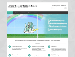 gebaeudedienste-andregieseler.de screenshot