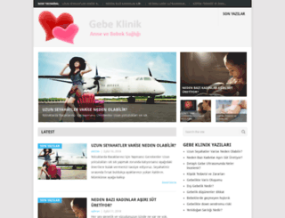 gebeklinik.com screenshot