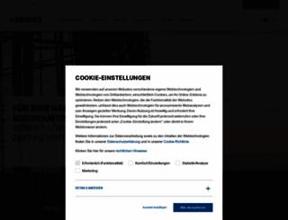 geberit.com screenshot