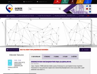 gebzeto.org.tr screenshot