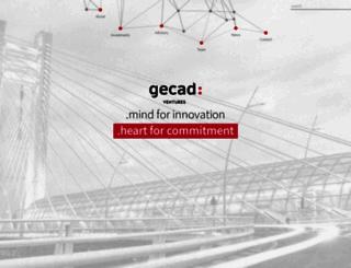 gecad.com screenshot