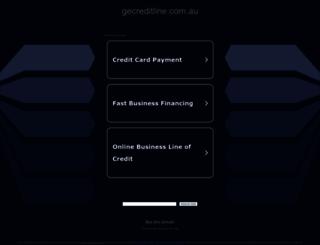 gecreditline.com.au screenshot