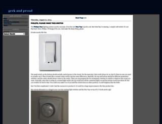 geekandproud.net screenshot