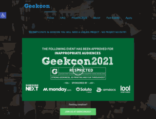 geekcon.org screenshot