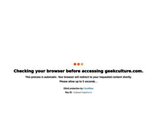 geekculture.com screenshot