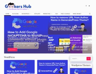 geekershub.com screenshot