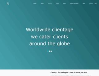 geekerstechnologies.com screenshot