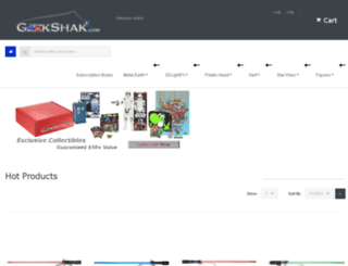 geekshak.com screenshot