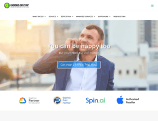 geeksontap.com.au screenshot