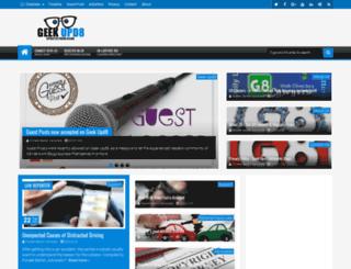 geekupd8.com screenshot