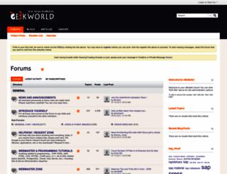 geekworld.co.in screenshot