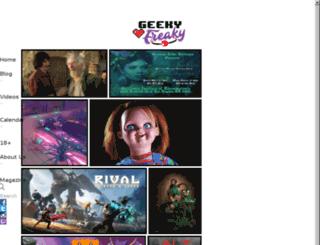 geekyfreaky.com screenshot
