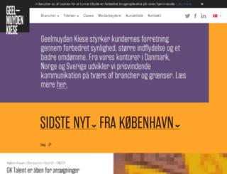 geelmuyden-kiese.dk screenshot