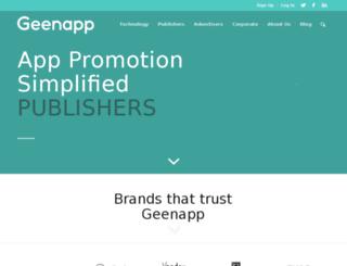 geenapp.com screenshot