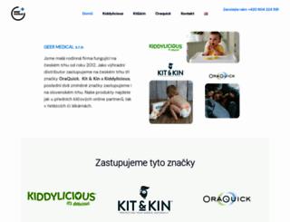 geer.cz screenshot