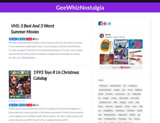 geewhiznostalgia.com screenshot