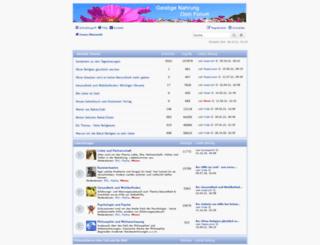 geistigenahrung.org screenshot