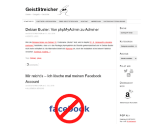 geiststreicher.org screenshot