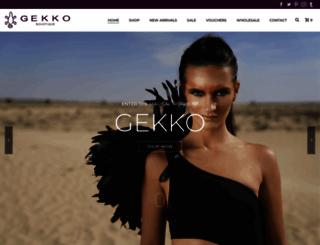 gekkobohotique.com screenshot