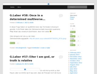 gelaber.nils-techblog.de screenshot