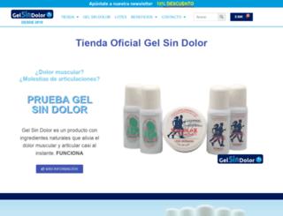 gelsindolor.com screenshot