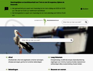 gemeentenoordenveld.nl screenshot