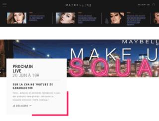 gemey-maybelline.com screenshot