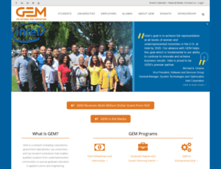 gemfellowship.org screenshot