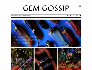 gemgossip.com screenshot