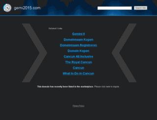 gemi2015.com screenshot