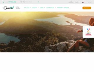gemini.cz screenshot