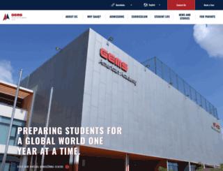 gemsamericanacademy-qatar.com screenshot