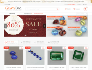 gemsbiz.com screenshot