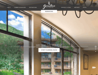 gemstoneresorts.com screenshot